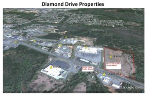 ATTACHMENT #11 AVAILABLE SITE 3 DIAMOND DRIVE PROPERTIES SITE